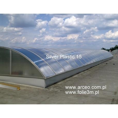 Silver Plastic 15 3M